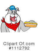 Royalty-Free (RF) Bulldog Clipart Illustration #1112792