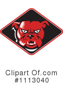 Royalty-Free (RF) bulldog Clipart Illustration #1113040