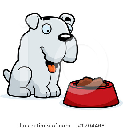 Food Bowl Clipart #1204468 by Cory Thoman