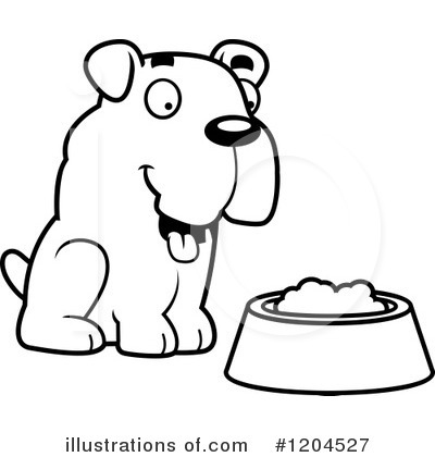 Food Bowl Clipart #1204527 by Cory Thoman