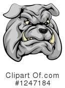 Royalty-Free (RF) Bulldog Clipart Illustration #1247184
