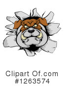 Bulldog Clipart #1263574 by AtStockIllustration