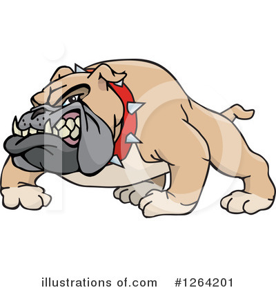 Dog Clipart #1264201 by Dennis Holmes Designs