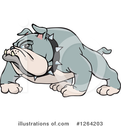 Dog Clipart #1264203 by Dennis Holmes Designs