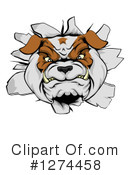 Royalty-Free (RF) Bulldog Clipart Illustration #1274458