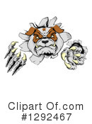 Royalty-Free (RF) Bulldog Clipart Illustration #1292467