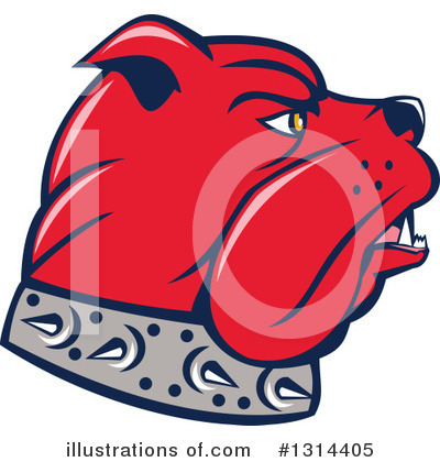 Bulldog Clipart #1314405 by patrimonio