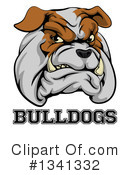 Royalty-Free (RF) Bulldog Clipart Illustration #1341332