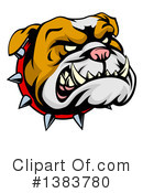 Bulldog Clipart #1383780 by AtStockIllustration