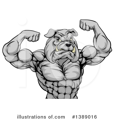 Muscles Clipart #1389016 by AtStockIllustration