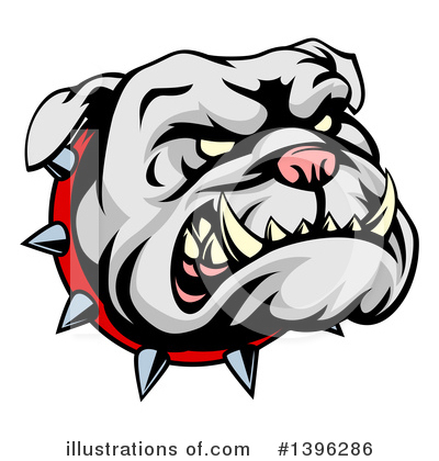 Bulldog Clipart #1396286 by AtStockIllustration