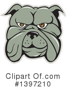 Royalty-Free (RF) Bulldog Clipart Illustration #1397210