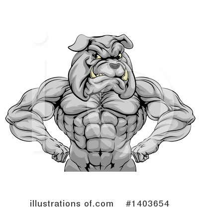 Muscles Clipart #1403654 by AtStockIllustration