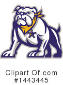 Royalty-Free (RF) Bulldog Clipart Illustration #1443445