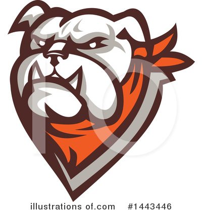 Bulldog Clipart #1443446 by patrimonio