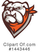 Royalty-Free (RF) Bulldog Clipart Illustration #1443446