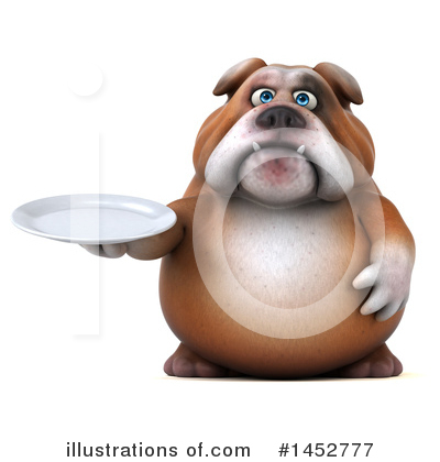 Bulldog Clipart #1452777 by Julos