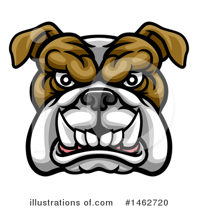 Bulldog Clipart #1462720 by AtStockIllustration