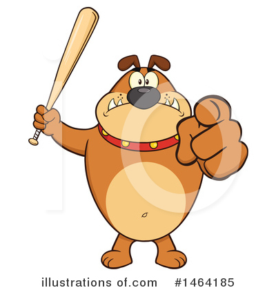 Bulldog Clipart #1464185 by Hit Toon