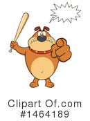 Bulldog Clipart #1464189 by Hit Toon