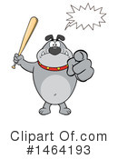 Bulldog Clipart #1464193 by Hit Toon