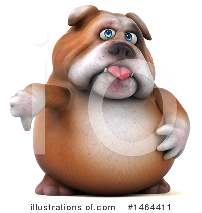 Bulldog Clipart #1464411 by Julos