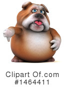 Royalty-Free (RF) Bulldog Clipart Illustration #1464411