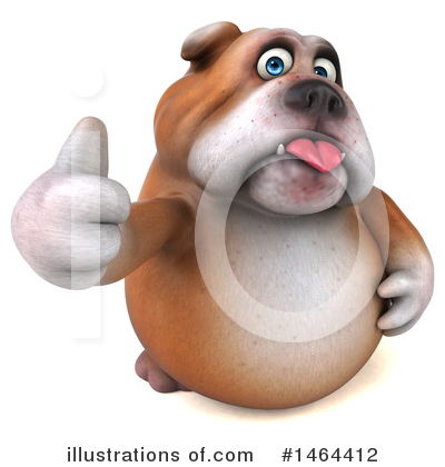 Bulldog Clipart #1464412 by Julos