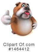 Royalty-Free (RF) Bulldog Clipart Illustration #1464412