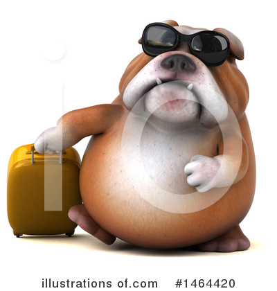 Bulldog Clipart #1464420 by Julos