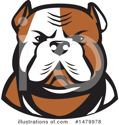 Bulldog Clipart #1479978 by patrimonio