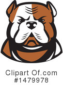 Royalty-Free (RF) Bulldog Clipart Illustration #1479978