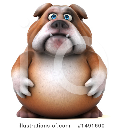 Bulldog Clipart #1491600 by Julos