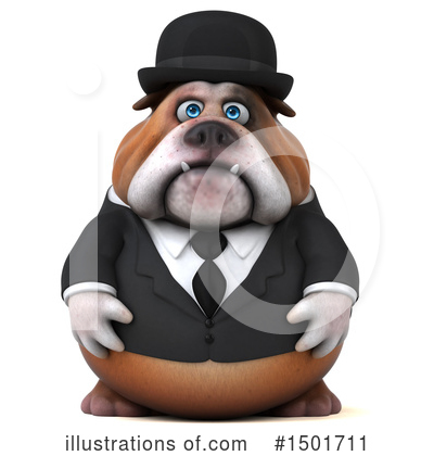 Bulldog Clipart #1501711 by Julos