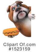 Royalty-Free (RF) Bulldog Clipart Illustration #1523159