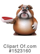 Royalty-Free (RF) Bulldog Clipart Illustration #1523160