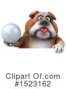 Royalty-Free (RF) Bulldog Clipart Illustration #1523162
