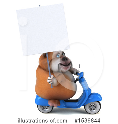 Bulldog Clipart #1539844 by Julos