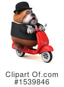 Royalty-Free (RF) Bulldog Clipart Illustration #1539846