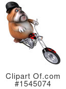 Royalty-Free (RF) Bulldog Clipart Illustration #1545074