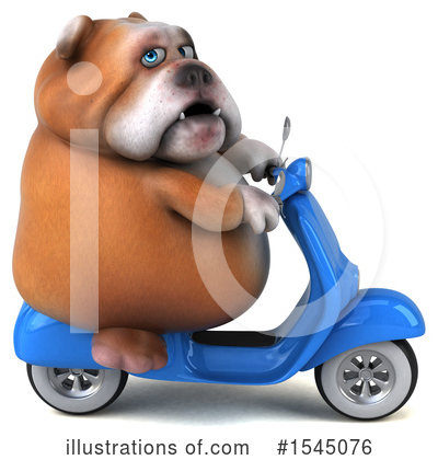 Bulldog Clipart #1545076 by Julos