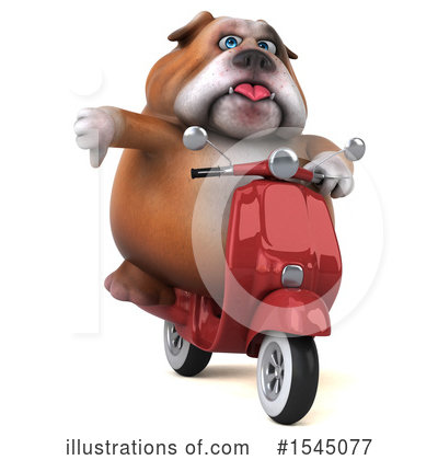 Bulldog Clipart #1545077 by Julos