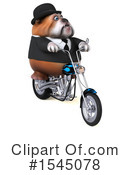 Royalty-Free (RF) Bulldog Clipart Illustration #1545078