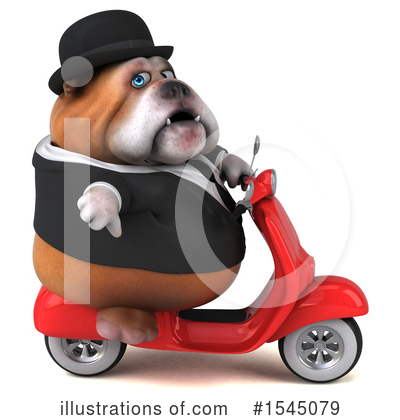 Bulldog Clipart #1545079 by Julos