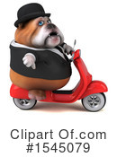 Royalty-Free (RF) Bulldog Clipart Illustration #1545079