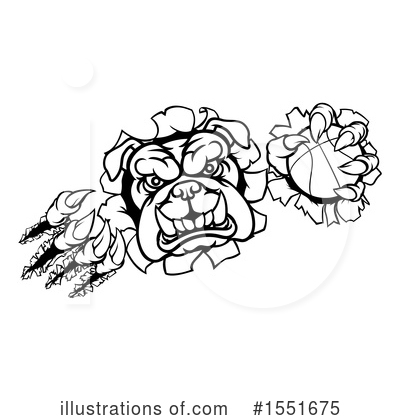 Royalty-Free (RF) Bulldog Clipart Illustration by AtStockIllustration - Stock Sample #1551675