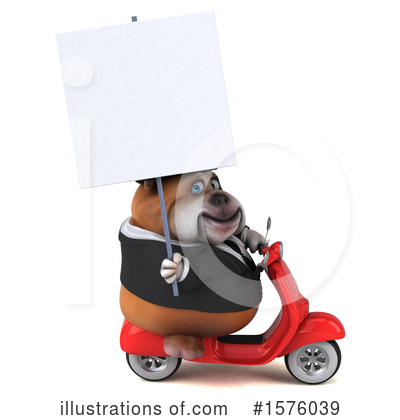 Bulldog Clipart #1576039 by Julos