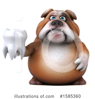 Bulldog Clipart #1585360 by Julos