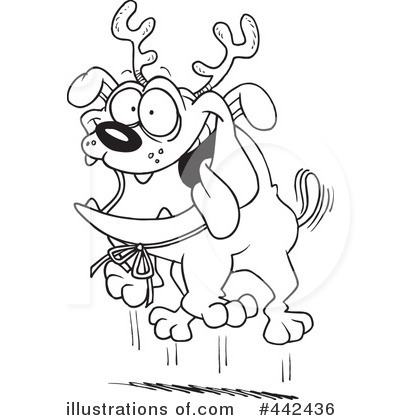 Reindeer Clipart #442436 by toonaday