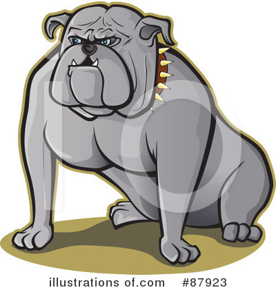 Bulldog Clipart #87923 by Paulo Resende